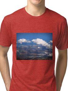 aerial of Gold Coast, Queensland, Australia Tri-blend T-Shirt