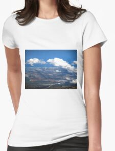 aerial of Gold Coast, Queensland, Australia Womens Fitted T-Shirt