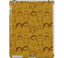 Big Bang Theory Characters Yellow iPad Case/Skin