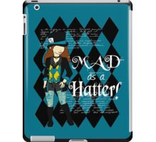 She's Mad, Mad, Mad iPad Case/Skin