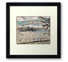 Clarke Island, from Darling Point Framed Print
