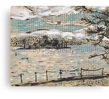 Clarke Island, from Darling Point Canvas Print