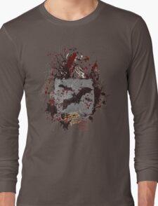 Vampire Bats - Blood Splatters - Grunge T-Shirt