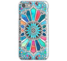 Iridescent Watercolor Brights on White iPhone Case/Skin