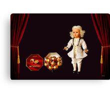 Mozart Kugeln Canvas Print