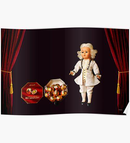 Mozart Kugeln Poster