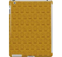 Rock, Paper, Scissors, Lizard, Spock Yellow iPad Case/Skin