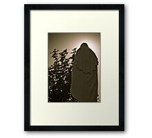 White Mary II Framed Print