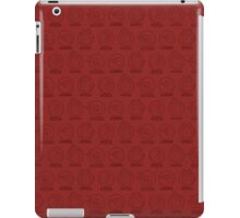 Rock, Paper, Scissors, Lizard, Spock Red iPad Case/Skin