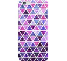 Berry Purples - Triangle Patchwork Pattern iPhone Case/Skin