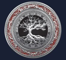 Treasure Trove: Celtic Tree of Life [Silver] T-Shirt