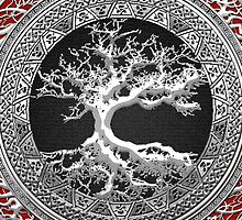 Treasure Trove: Celtic Tree of Life [Silver] by Serge Averbukh