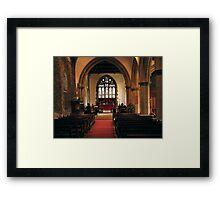 St Giles Church Framed Print