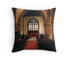 St Giles Church Throw Pillow