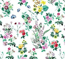 Retro Textile Design Pattern Fabric by sale