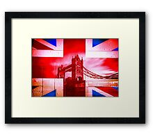 Aggrandization Vol. IV @londonlights Framed Print