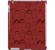 Big Bang Theory Characters Red iPad Case/Skin