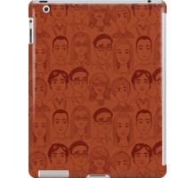 Big Bang Theory Characters Orange iPad Case/Skin