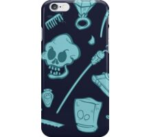 The Curse of Monkey Island Inventory (blue) iPhone Case/Skin