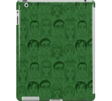 Big Bang Theory Characters Green iPad Case/Skin