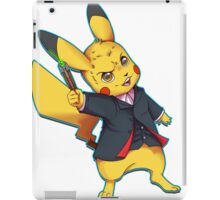 12th Doctor Pika Who? iPad Case/Skin