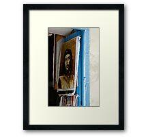 Che Guevara painting, Art shop, Cuba Framed Print