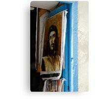 Che Guevara painting, Art shop, Cuba Canvas Print