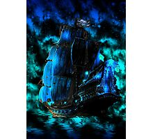 Pirates of the Caribbean-The Black Pearl Photographic Print