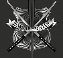 Zombie hunter shield by puppaluppa