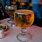 Fred's Texas Cafe's Schooner Of Ice Cold Beer by Robert Howington