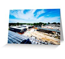 community ctr under construction in Silver Spring,md Greeting Card