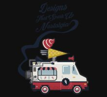 Nuance Retro: Ice Cream Truck Time Machine   Baby Tee