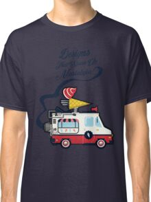 Nuance Retro: Ice Cream Truck Time Machine   Classic T-Shirt