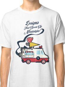 Nuance Retro: Ice Cream Truck Time Machine   Classic T-Shirt