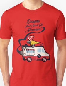 Nuance Retro: Ice Cream Truck Time Machine   Unisex T-Shirt