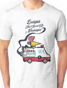 Nuance Retro: Ice Cream Truck Time Machine   Unisex T-Shirt