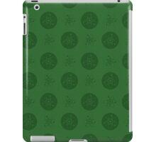 Green Atom Polka Dots iPad Case/Skin