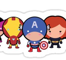 Cute Avengers Sticker