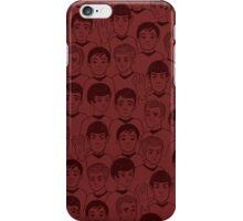 Star Trek Original Characters Red iPhone Case/Skin