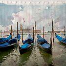 Venise on paper by Laurent Hunziker
