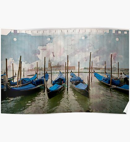 Venise on paper Poster