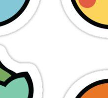 Cute Starter Pokemon Sticker