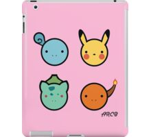Cute Starter Pokemon iPad Case/Skin