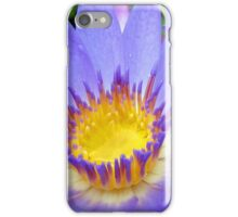 Purple & Yellow Lotus iPhone Case/Skin