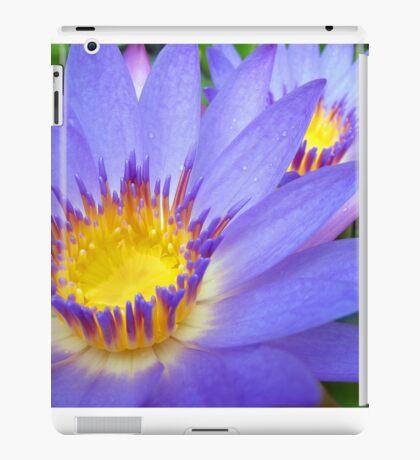 Purple & Yellow Lotus iPad Case/Skin