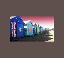 Bathing Boxes, Brighton Beach Unisex T-Shirt