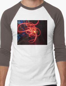 Light Swarm Men's Baseball ¾ T-Shirt