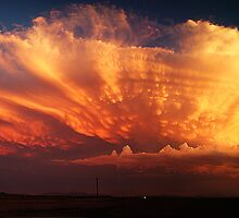 Monsoon Sunset by Mike Olbinski