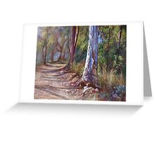 'Winding Back No. 2'  Greeting Card