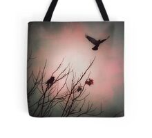 We fly as one, Crow spirit Tote Bag